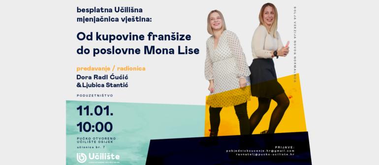 BUMV: Od kupovine franšize do poslovne Mona Lise // predavanje i radionica